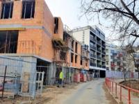 únor 2017 nové byty michle výstavba